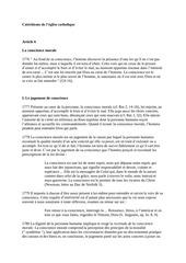catechisme de l eglise catholique extraits
