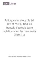 Fichier PDF politique d aristote
