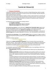 toxicite ethanol 2