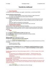 Fichier PDF toxicite methanol