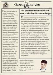 la gazette du sorcier n 5 1