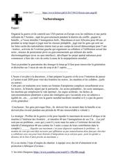 Fichier PDF vorbereitungen