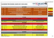 calendrier previsionnel lgkda 2017 2018