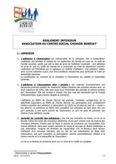 reglement interieur acscb 2015052