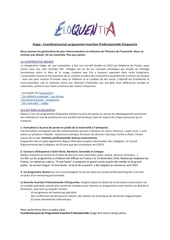 stage coordinateur insertion professionnelle eloquentia 2