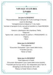 Fichier PDF voyage culturel a paris