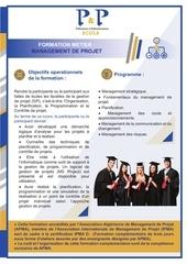 01 flyer management de projet