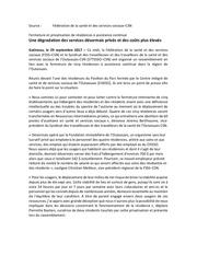 communique de presse 29 septembre 2017 fermeture des rac