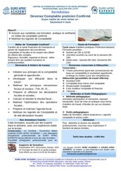 formaction comptable confirme