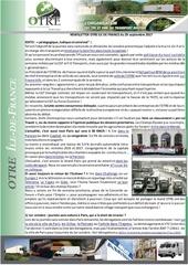 news otre idf 29 septembre 2017