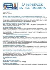 questionnaire interview jeremy petit