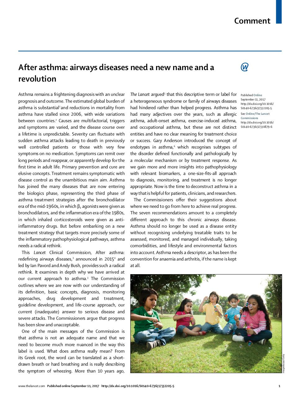 Aperçu du document After asthma airways diseases need a new name.pdf - page 1/2