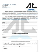 fiche inscription 2017 2018