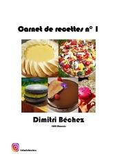 carnet recettes dimitri bechez 1000