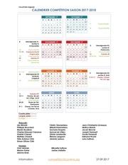 cpvlevis calendrier inter regional