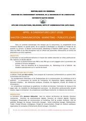 Fichier PDF appel candidature master cmp