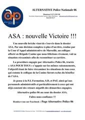 asa nouvelle victoire