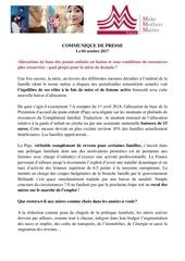 communique mmm france paje 04 10 17