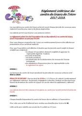 Fichier PDF reglement interieur 2017 2018 treon loisirs v3