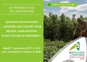 invit rdv agronomie du 07 11 2017 1