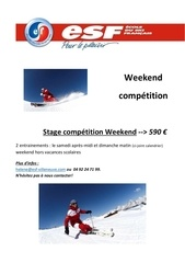 Fichier PDF stage compet week end 17 18