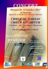 Fichier PDF annonce concert