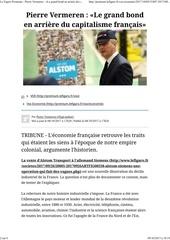 le grand bond en arriere du capitalisme francais