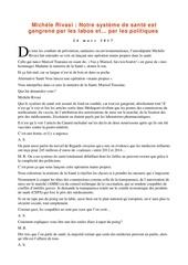 Fichier PDF michele rivasi notre systeme de sante est gangrene