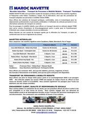 brochure maroc navette 10 10