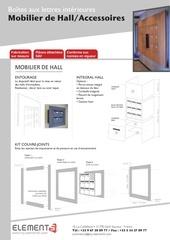 Fichier PDF catalogue accessoires