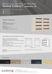 Fichier PDF compact horizontale