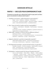 guide politique locale sommaire detaille