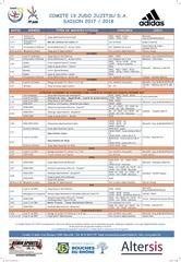 calendrier comite 13 1718