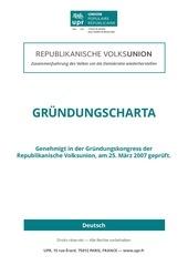 upr charte fondatrice allemand