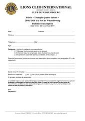 tjt3 bulletin d inscription reglement