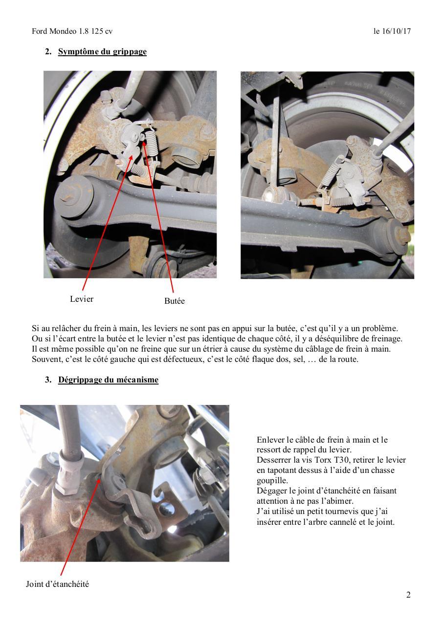 Renov Etrierarr Mondeodoc Par Alban Mondeo Pdf Electrical Wiring Joints Mondeopdf