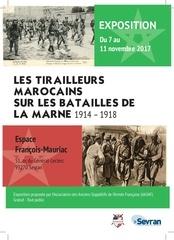 exposition de tirailleurs marocains aasaf 2017