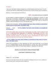 modele de document enregistrement ucc