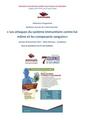 editorial de la 7eme journee de l auto immunite