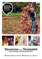 programme vacances de la toussaint 2017