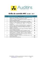 grille de controle nfc 16 600 2017