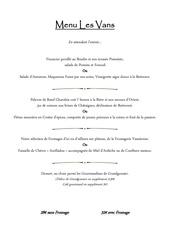 menu automne 2017