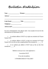 Fichier PDF bulletin d adhesion 2018