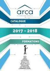 arca catalogue formations 2017 2018 livret