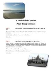 circuit caraebe quinta sans prix