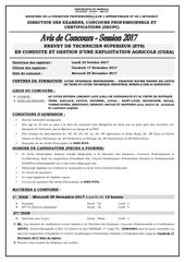 Fichier PDF avis concours session 2017 phase 3 bts cgea