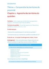 chapitre geographie