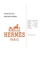 Etude Dossier Marketing Hermes CasParfums Par De Gomes Clarice KcF5u1TlJ3