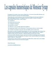 Fichier PDF monsieur synap