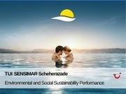 sustainbability report sensimar scheherazade 10 2017